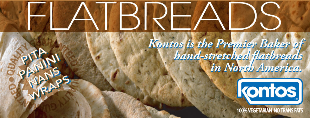 Konto's - premier maker of flatbreads in North America